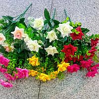 Искусственный букет- роза.Роза декоративная.