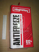 Антифриз HighWay ANTIFREEZE-40 LONG LIFE G12+ (красный) 5кг 10004