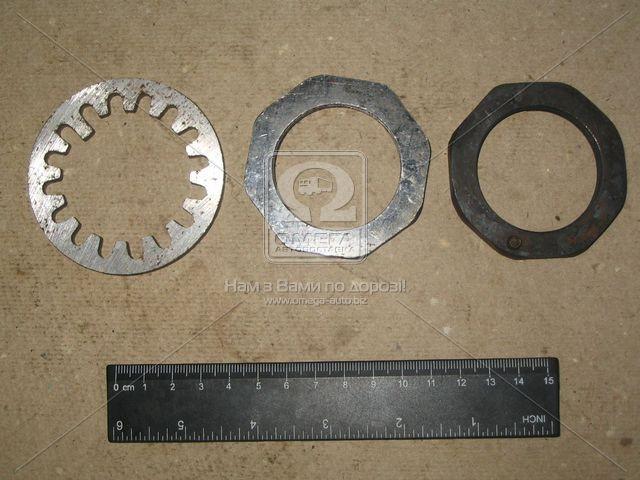 Гайка ступицы задней комплект ГАЗ 3302 (производство Россия) (арт. 3302-2401055/54/50)