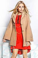 Оригинальное кашемировое пальто Gepur 19030