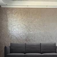 Шелковый эффект на стенах №384