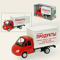 """Грузовой фургон 9077-A Автопарк  """"Продукты"""""""