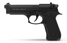 Сигнальний пістолет Retay mod. 92 Black (копія Beretta 92)