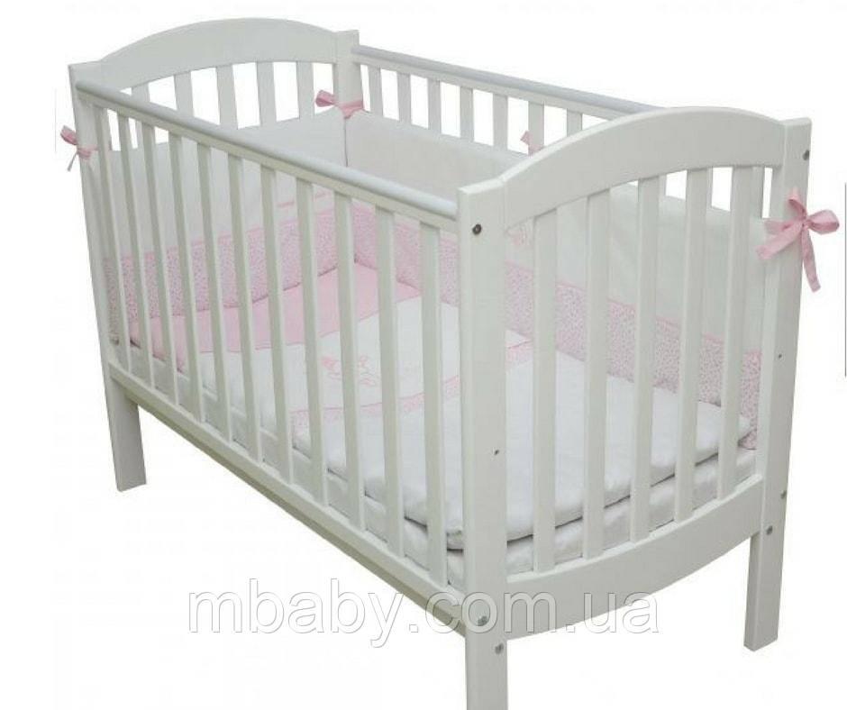 Детская кроватка Верес Ліжко Верес ЛД10 Соня маятник/без  ящика (5 цветов)