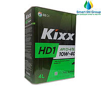 Моторное масло для дизельных двигателей  KIXX HD1 10W-40 4л