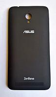 Задняя черная крышка для Asus Zenfone Go ZC500TG