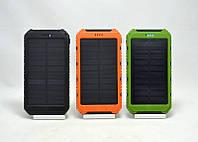 Портативное зарядное устройство Power Bank Solar 50000mAh на солнечной батарее, Мобильная солнечная