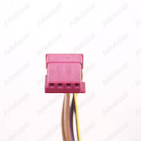 Разъем электрический 4-х контактный (13-5) б/у 968813-4, 8377240