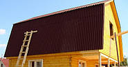 Кроем крышу ондулином: особенности материала.