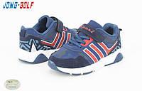 Весенняя коллекция детских кроссовок. Детская спортивная обувь бренда Jong Golf для мальчиков (рр. с 26 по 31)