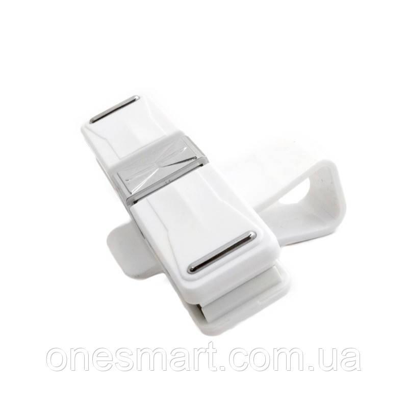 Автомобильный держатель для очков ExtraDigital Glasses Holder White