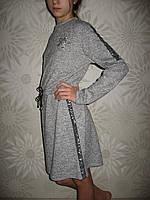 Очаровательное детское платье ангора