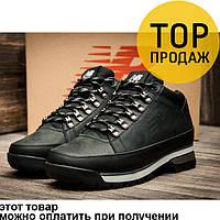 Мужские зимние кроссовки  New Balance 754, на меху, кожаные, черные / кроссовки мужские Нью Беланс 754, модные