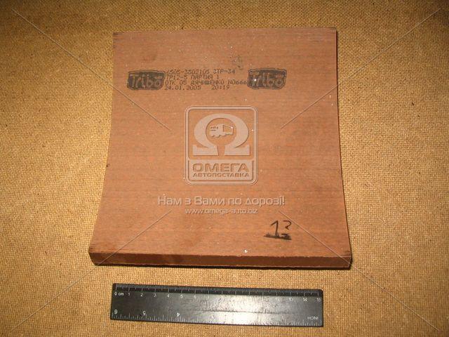 Накладка тормозная КРАЗ 6505 задн. (производство Трибо) (арт. 6505-3502105), AAHZX