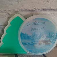 Мыло Новогоднее с картинкой, фото 1