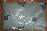 Подушка с гречневой лузгой 50*70см с молнией. Сделана с любовью!