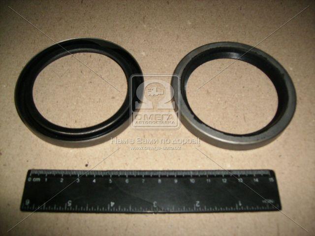 Сальник вала коленчатого ВАЗ 2101 задний в металлический обойме 70х90х10 (производство БРТ) (арт. 2101-1005160)