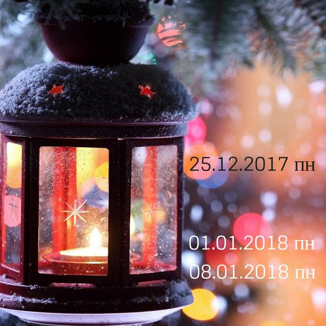 Зимние выходные 2017-2018