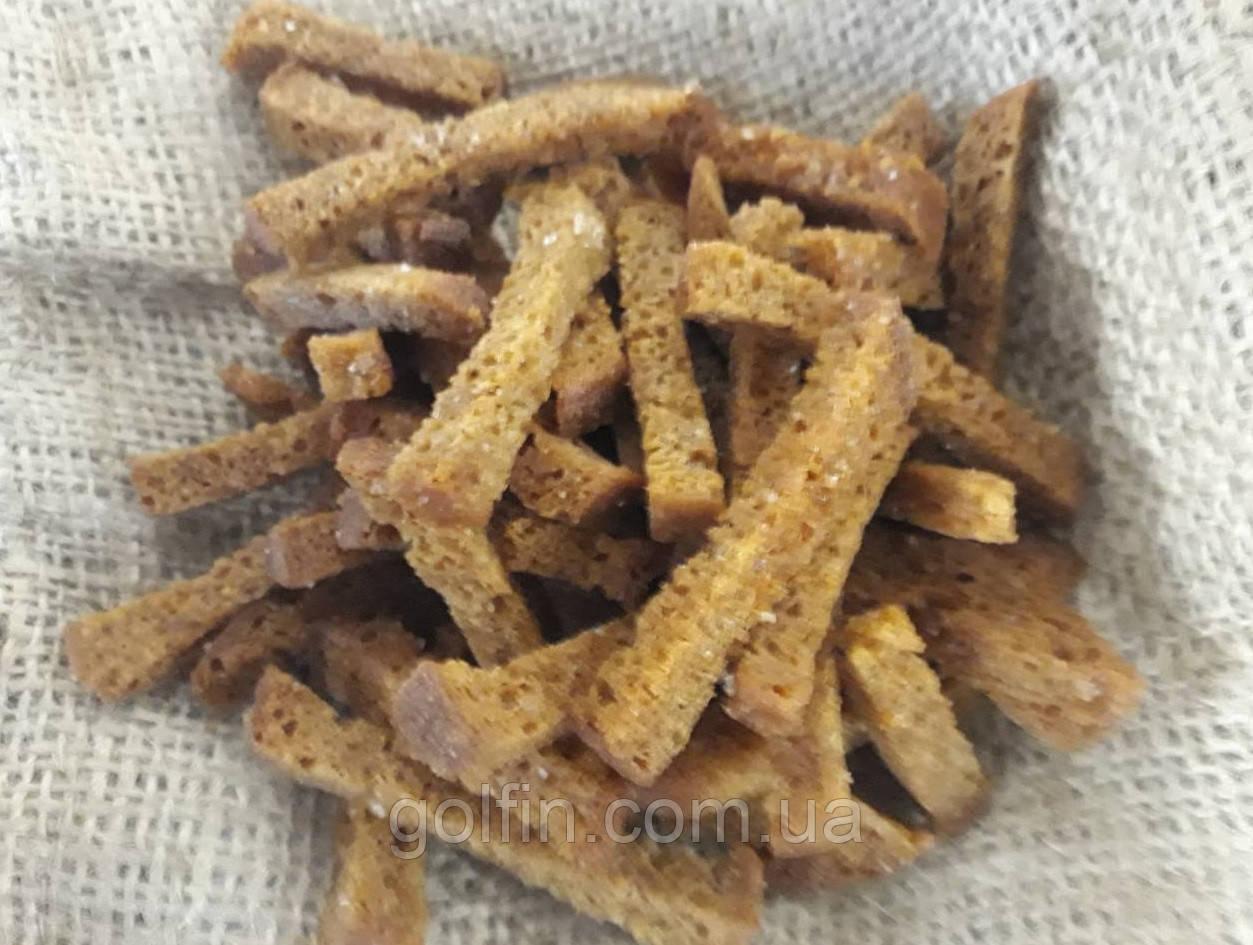 Сухарики ржаные с салом - соломка/150