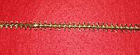 Тесьма декоративная люрекс золото 6143