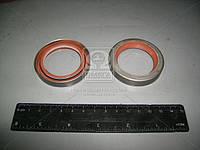 Сальник ступицы передней ВАЗ 2101 40х57х10 красный с пружиной (производство БРТ)