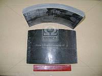 Накладка тормоз КРАЗ задний (Производство УралАТИ) 255Б-3502105
