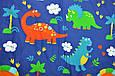 """Утепленный плед в коляску """"Динозавры"""", фото 5"""