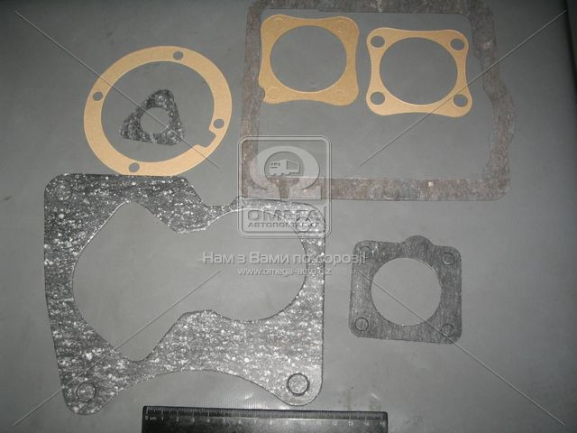 Прокладки КПП УАЗ 469 комплект 6шт (5-ст. КПП) (производство Россия) (арт. 469-17001000-10)