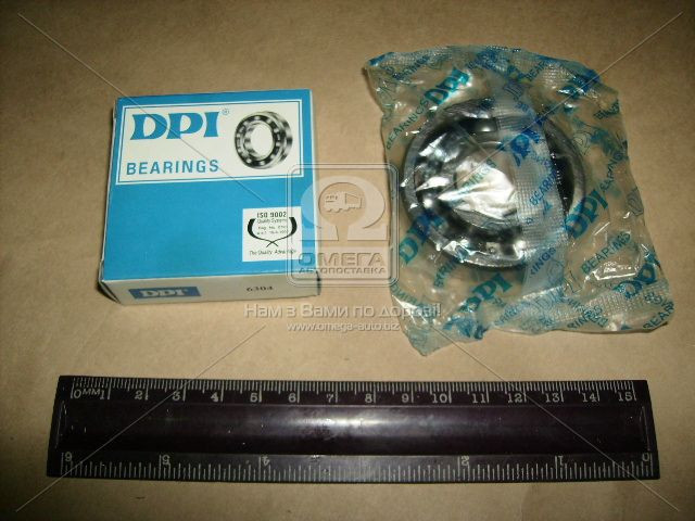 Подшипник 304 (6304)(ХАРП) вал первой передачи КПП, опора привода вентил. двигателя МТЗ (арт. 304)