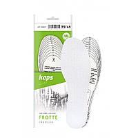 Kaps Frotte - Гигиенические хлопковые стельки для обуви (для вырезания)