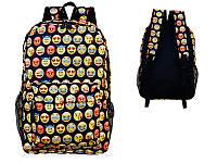 Рюкзак школьный FULL-PRINT 3D VINTAGE EMOJI EMOTION