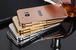 Чехол бампер для HTC One M10 зеркальный
