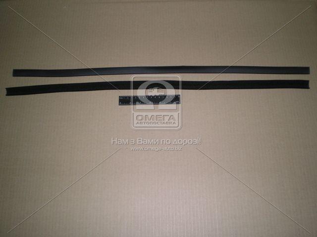 Уплотнитель стекла опускного ВАЗ 21213 передн. левый (производство БРТ) (арт. 21213-6103321Р)