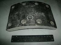 Накладка тормоз КАМАЗ передний сверленая (Производство УралАТИ) 53212-3501105