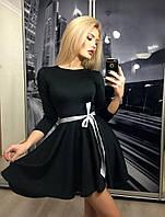 Стильное и модное платье с юбкой-солнце