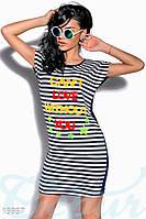 Платье с апликацией Gepur 15957