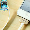 USB кабель Remax King Kong RC-015 iPhone 4 1m White, фото 4