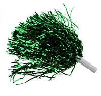 Помпоны для черлидинга пара из дождика зеленые