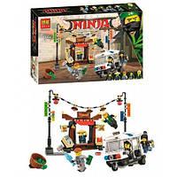 """Конструктор Ninjago Movie Bela 10714 (аналог Lego 70607) """"Ограбление киоска в Ниндзяго Сити"""" 263 дет"""