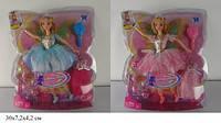 Кукла Sikaly 32см фея с крылышками, с аксессуарами и нарядом, LS10401