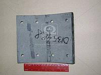 Накладка тормоз КАМАЗ сверленая (Производство Трибо) 5511-3501105-01