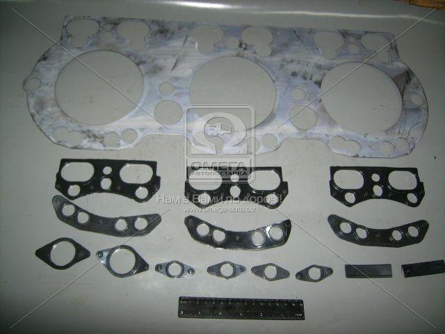 Прокладка головки блока ЯМЗ 236НЕ в сборе (общ) (производство ЯМЗ) (арт. 236Д-1003210), AEHZX