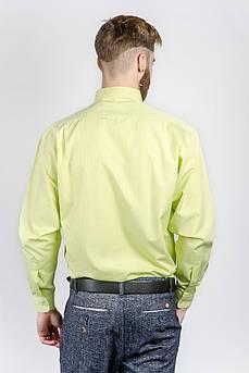 Рубашка мужская салатовая Fra №870-3 (Салатовый)