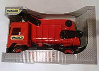"""Авто """"Tech truck"""" самосвал (красный), ТМ Wader, 39486"""