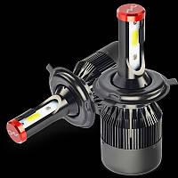 Автомобильная лампа LED H4 12V  P43t-38