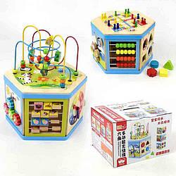 Куб Знайка, Wooden Toys