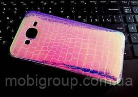 """Силиконовый чехол """"Хамелеон"""" для Samsung J7"""