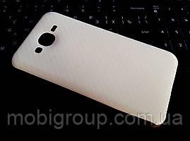 """Силиконовый чехол """"Карбон"""" для Samsung J7"""