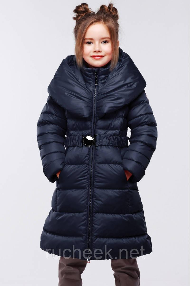 Стильное зимнее детское пальто Элисон рост 134-140, Украина NUI very