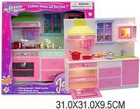 Кухня Jennifer, со светом, холодильник, мойка, шкаф, 2231